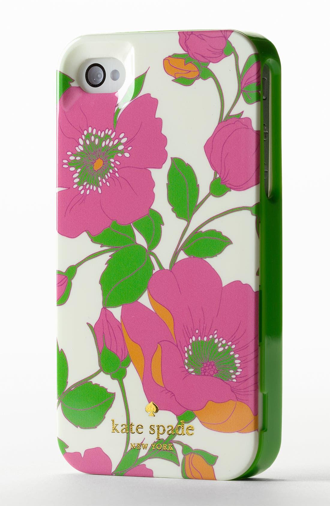 Alternate Image 2  - kate spade new york 'garden society' iPhone 4 & 4S case