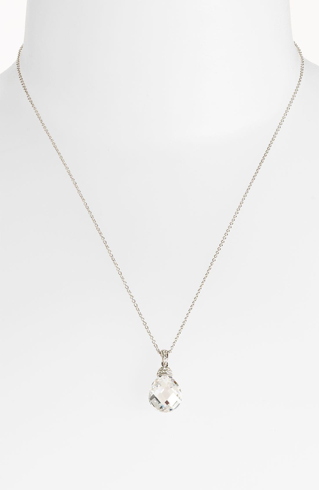 Main Image - Nadri Boxed Faceted Pendant Necklace (Nordstrom Exclusive)