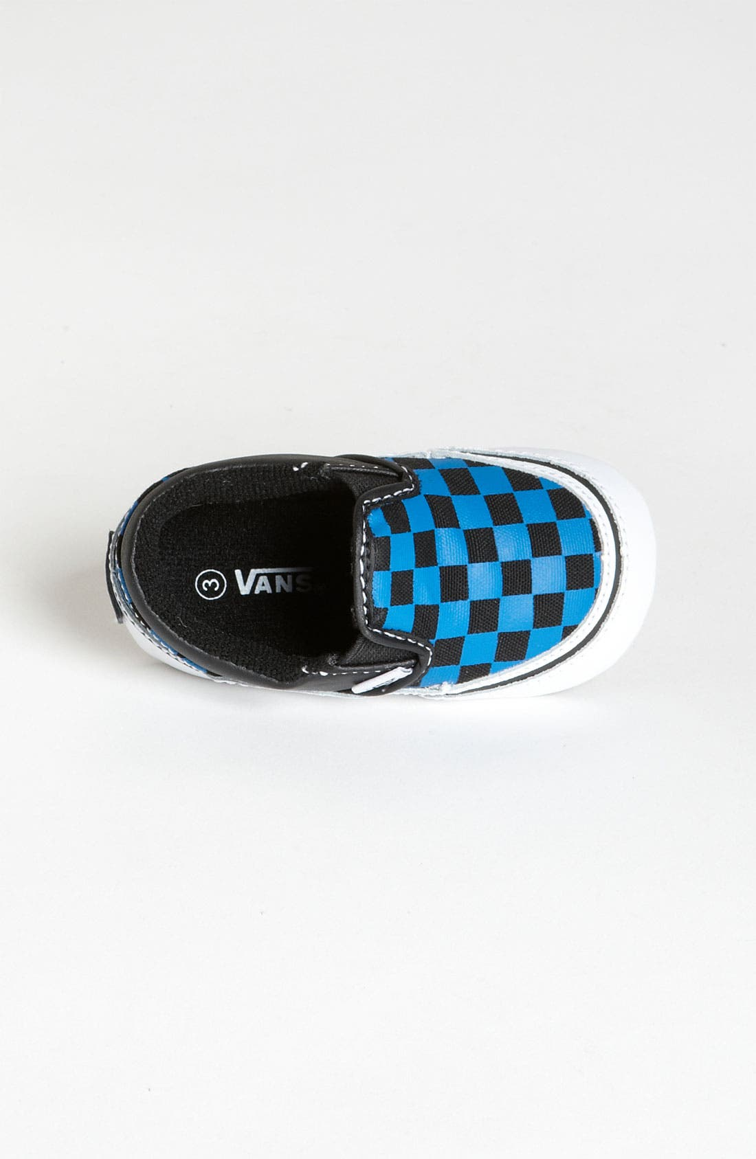 Alternate Image 3  - Vans 'Classic - Checker' Slip-On Sneaker (Baby)