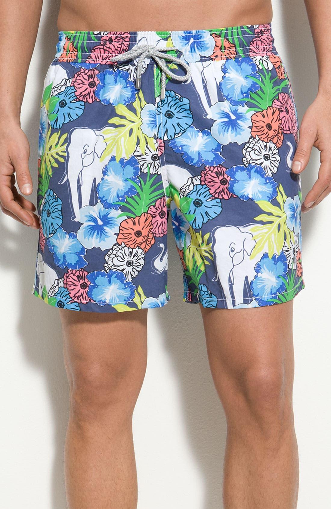 Main Image - Vilebrequin 'Moorea' Volley Swim Shorts
