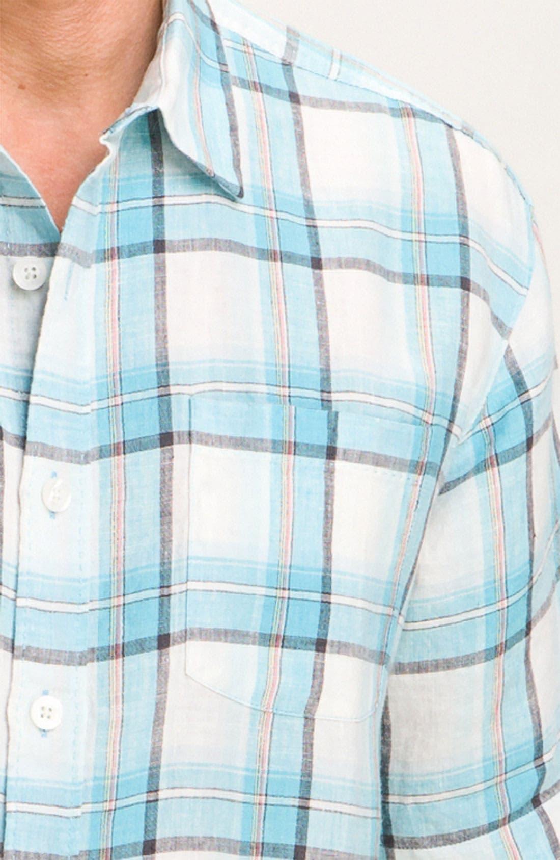 Alternate Image 3  - Tommy Bahama 'Plaid City Limits' Sport Shirt
