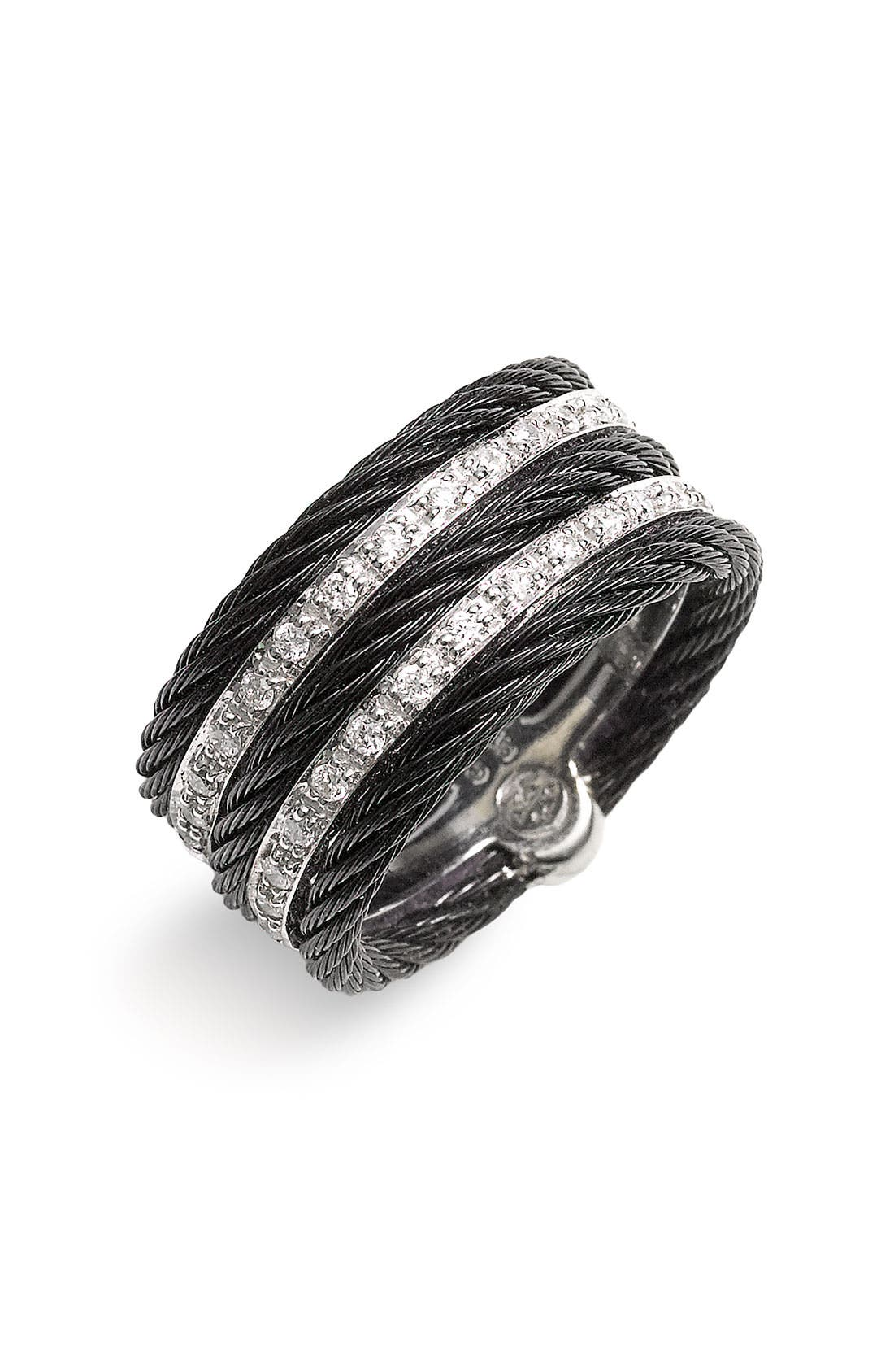 Alternate Image 1 Selected - ALOR® 5 Row Diamond Ring