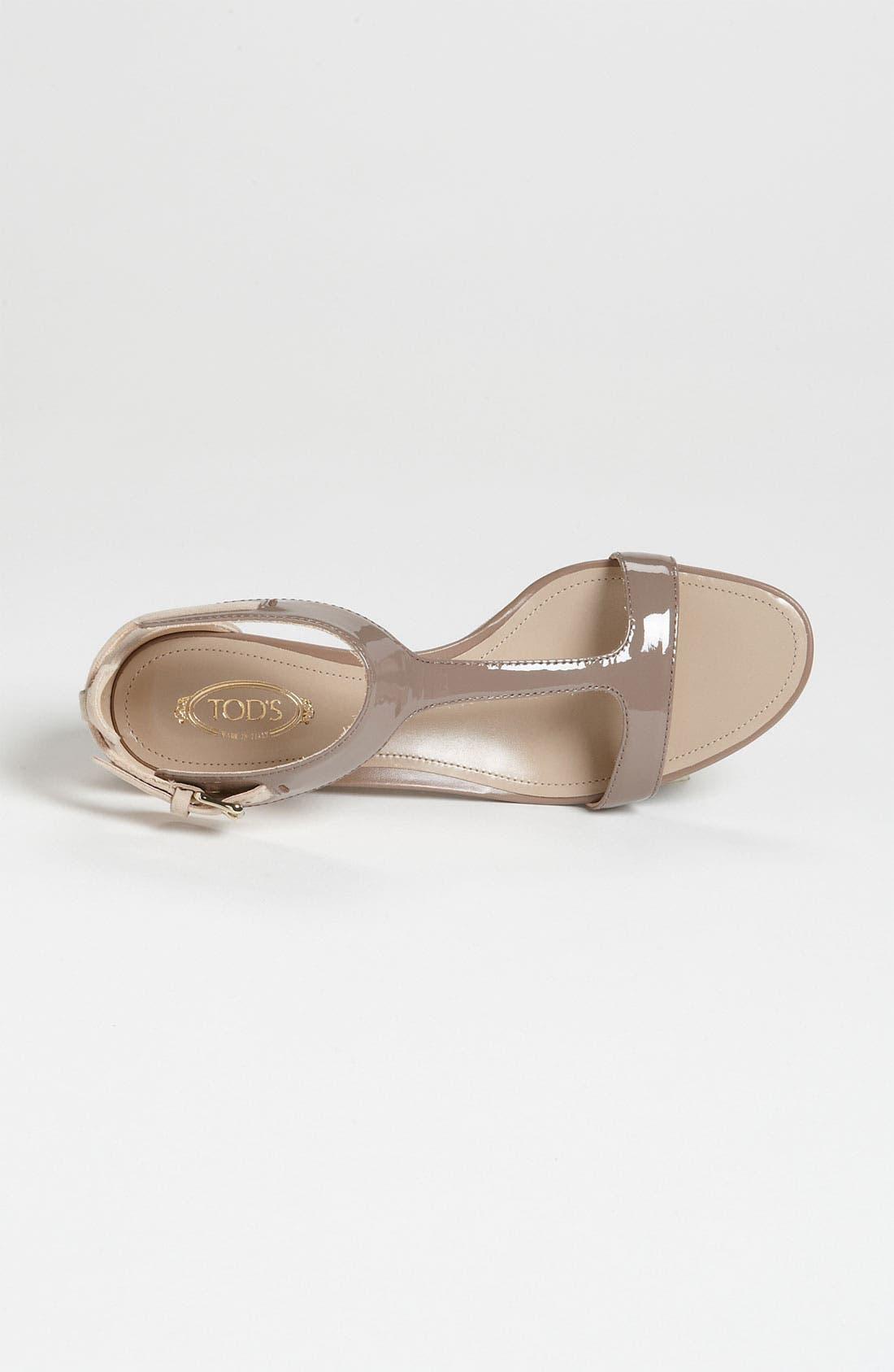 Alternate Image 3  - Tod's T-Strap Sandal