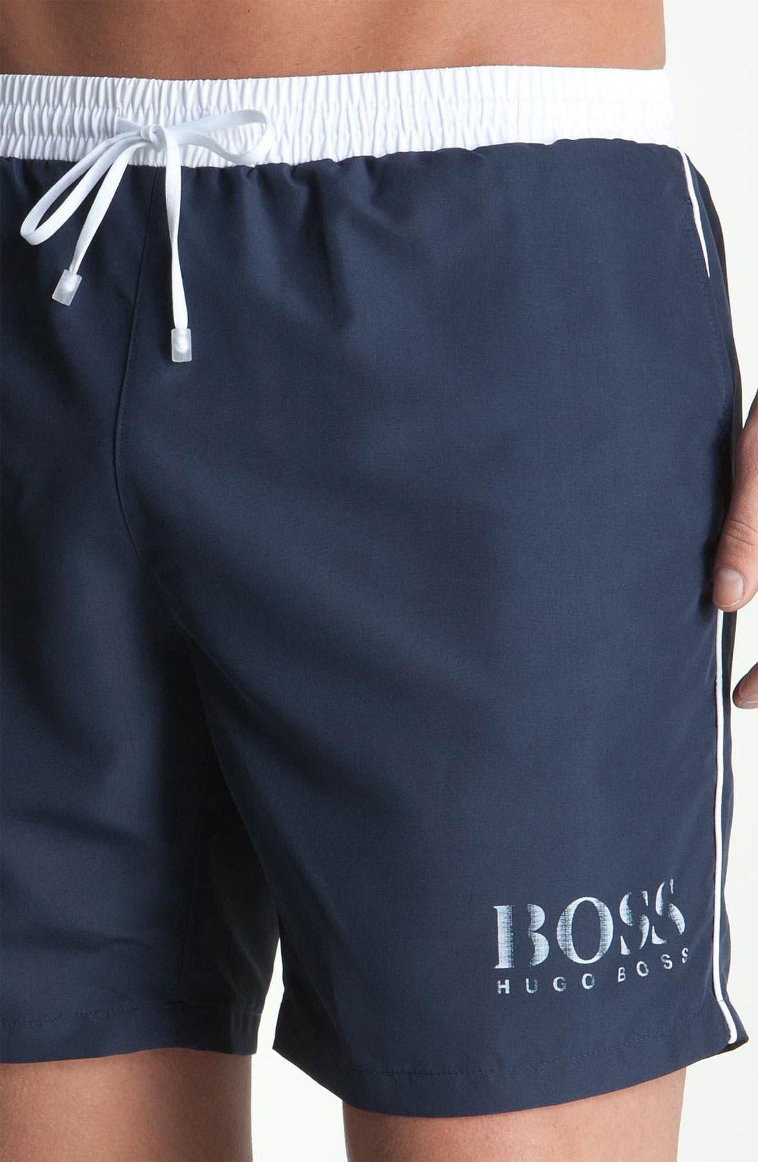 Alternate Image 3  - BOSS HUGO BOSS 'Starfish' Volley Swim Shorts