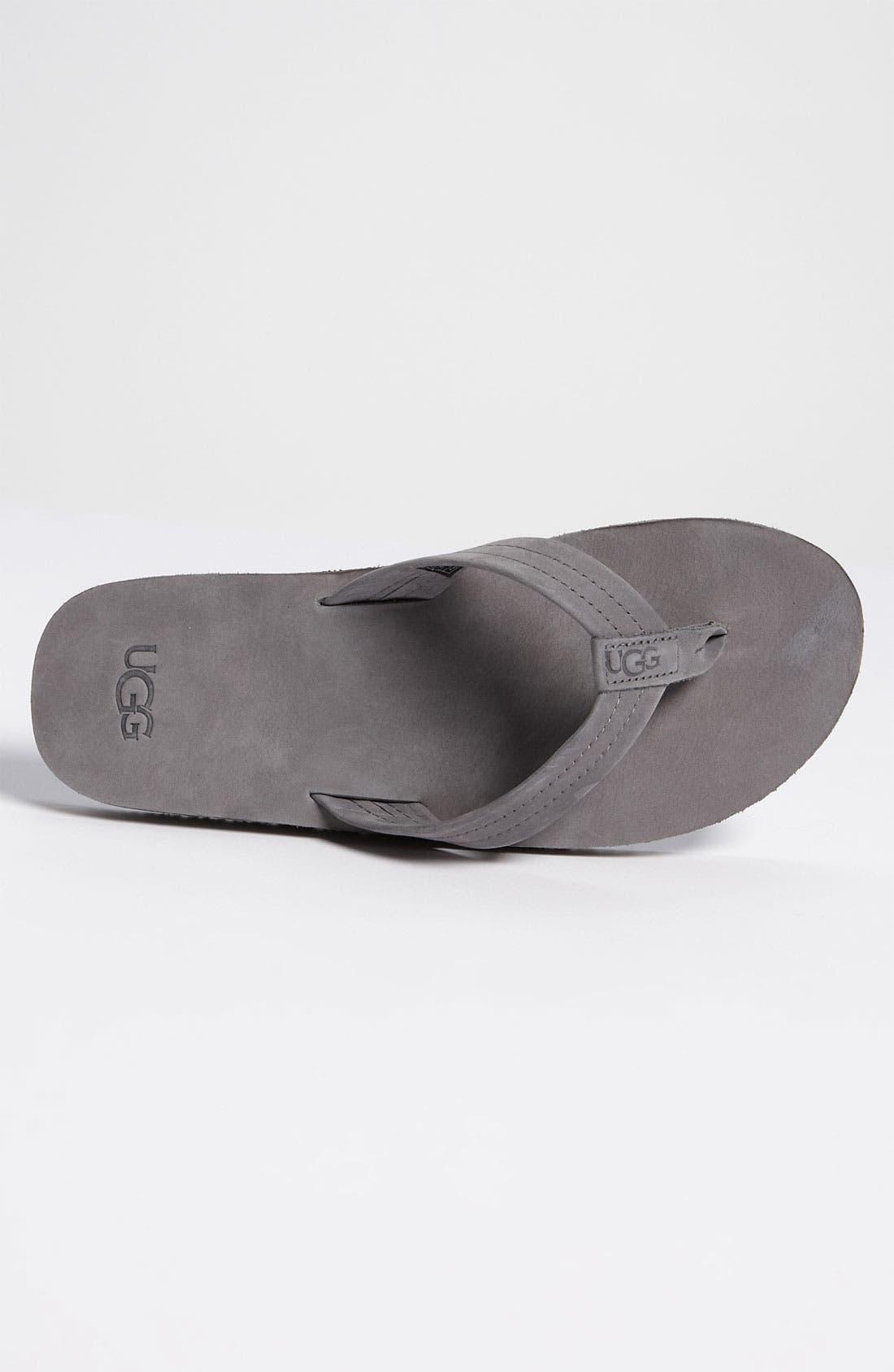 Alternate Image 3  - UGG® Australia 'Camano' Flip Flop (Men)