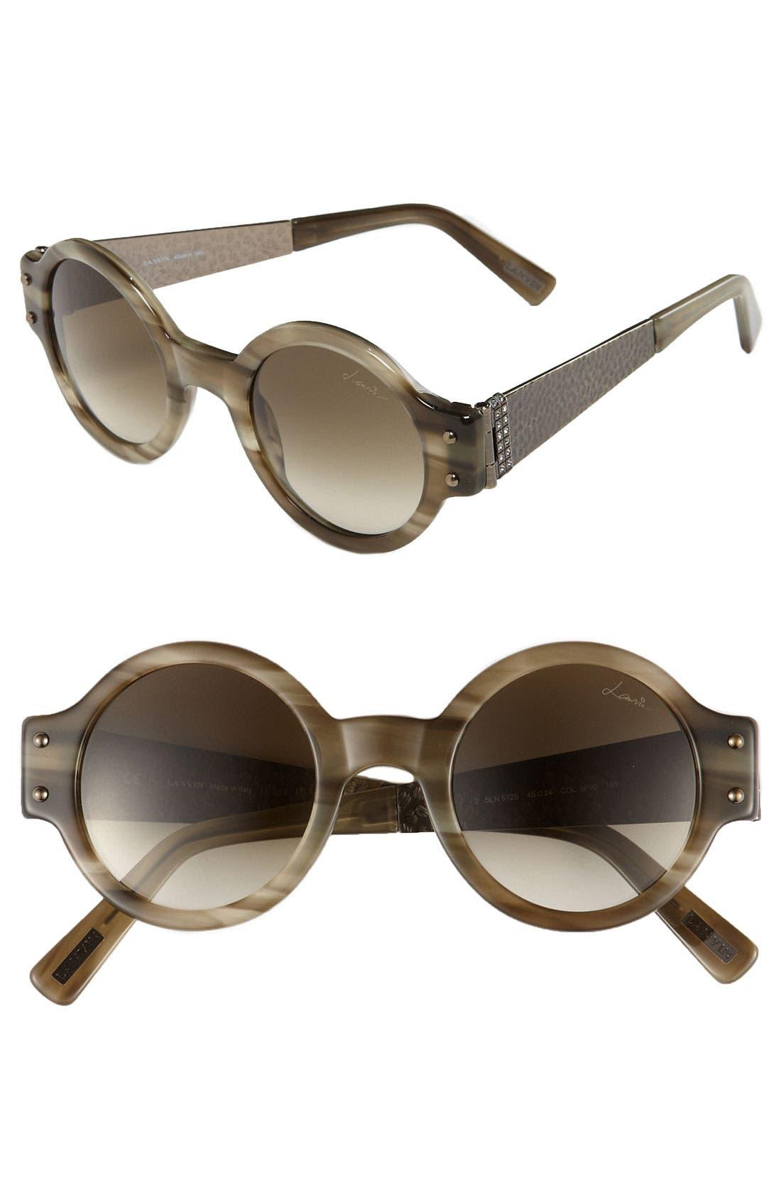 Alternate Image 1 Selected - Lanvin Round Retro Sunglasses