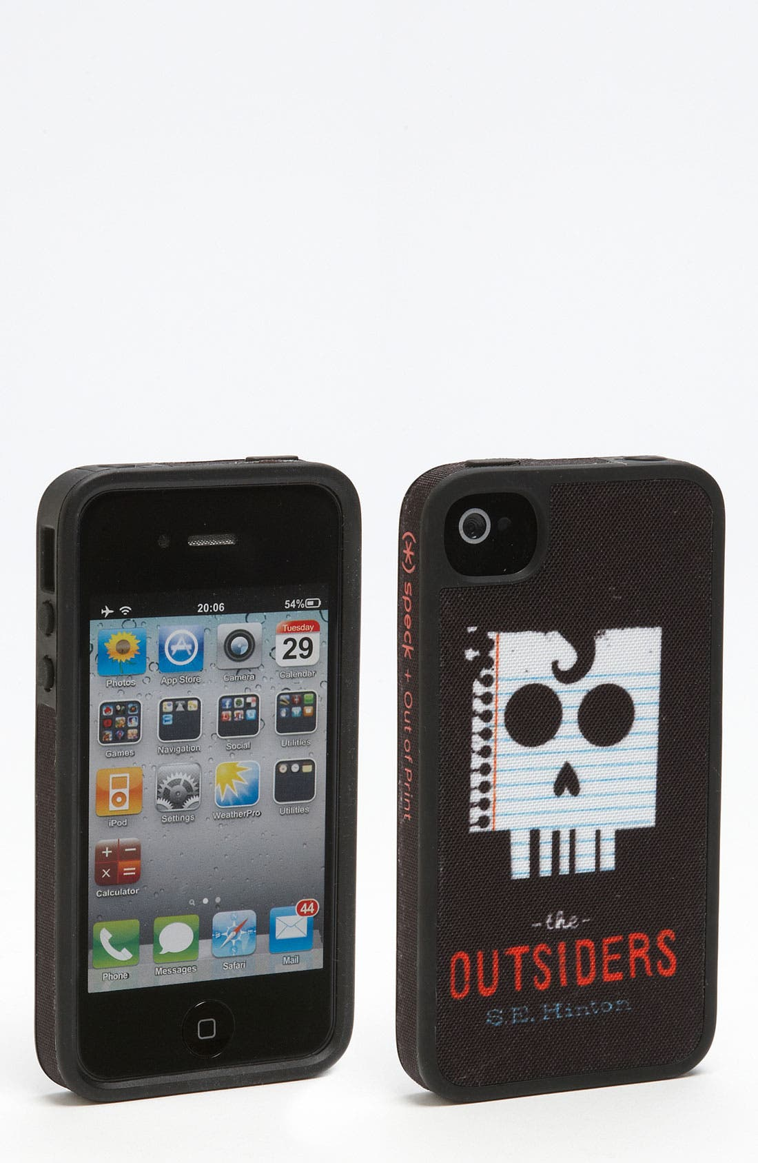 Main Image - Out of Print 'The Outsiders' iPhone 4 & 4S Case