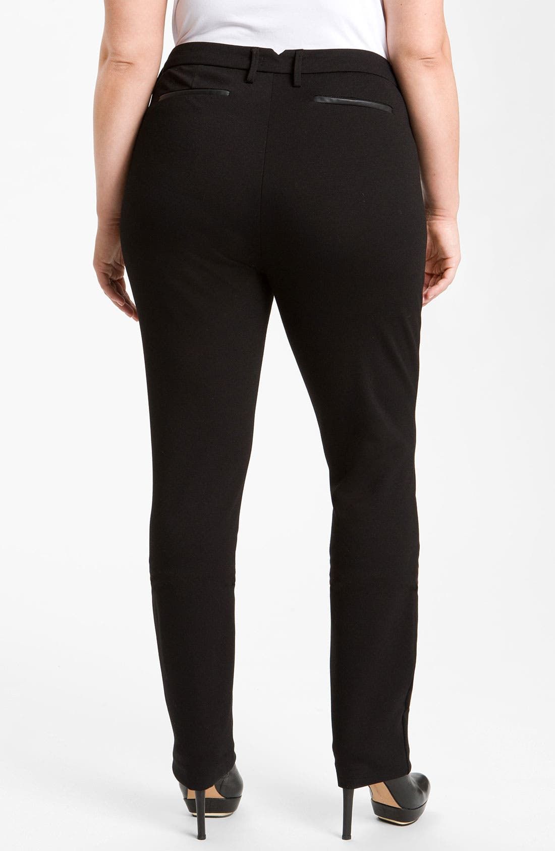 Alternate Image 1 Selected - NYDJ Stretch Ponte Knit Pants (Plus)