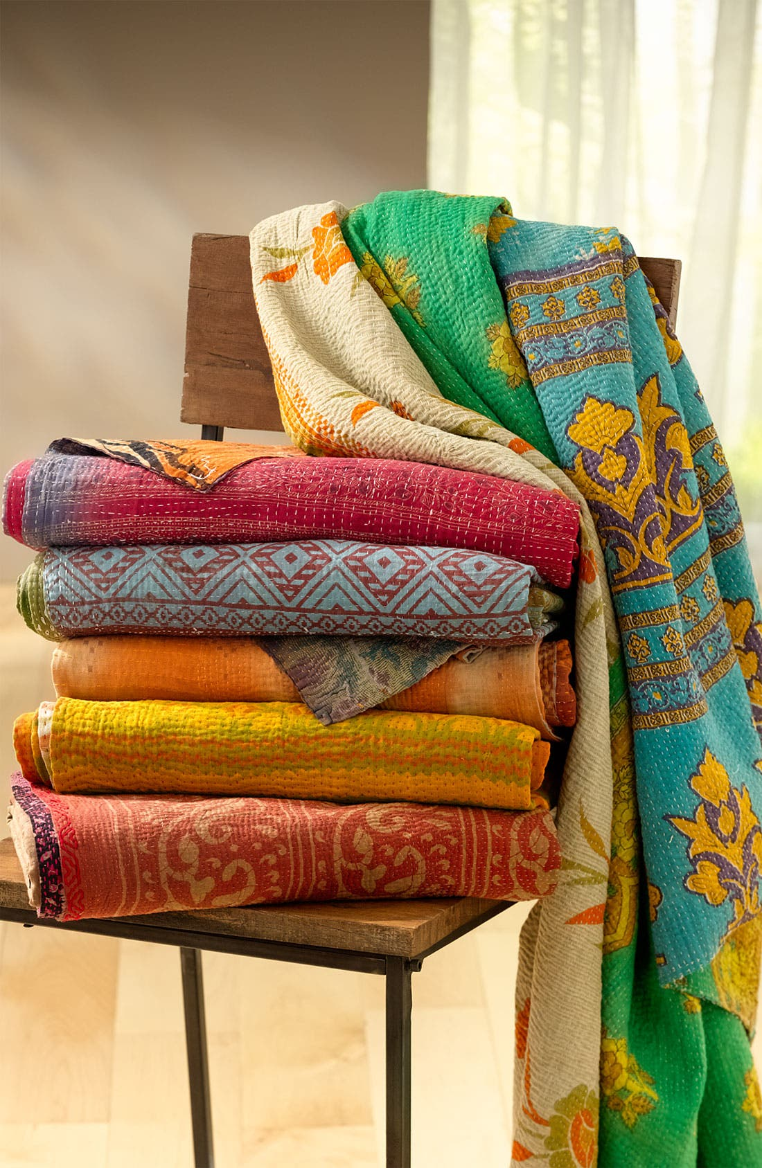 Alternate Image 3  - Kantha Hand Crafted Throw