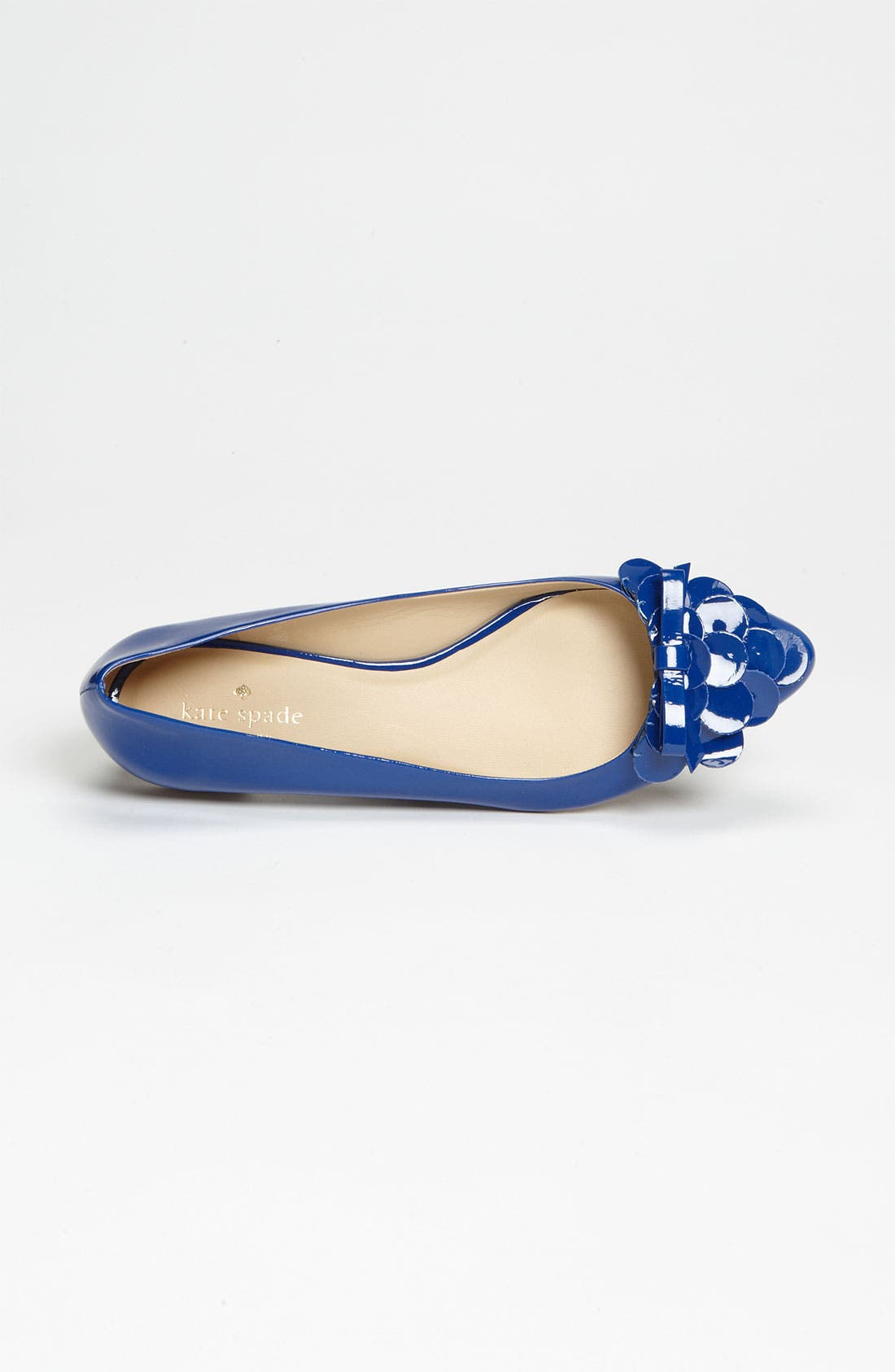 'erica' flat,                             Alternate thumbnail 3, color,                             Royal Blue Patent