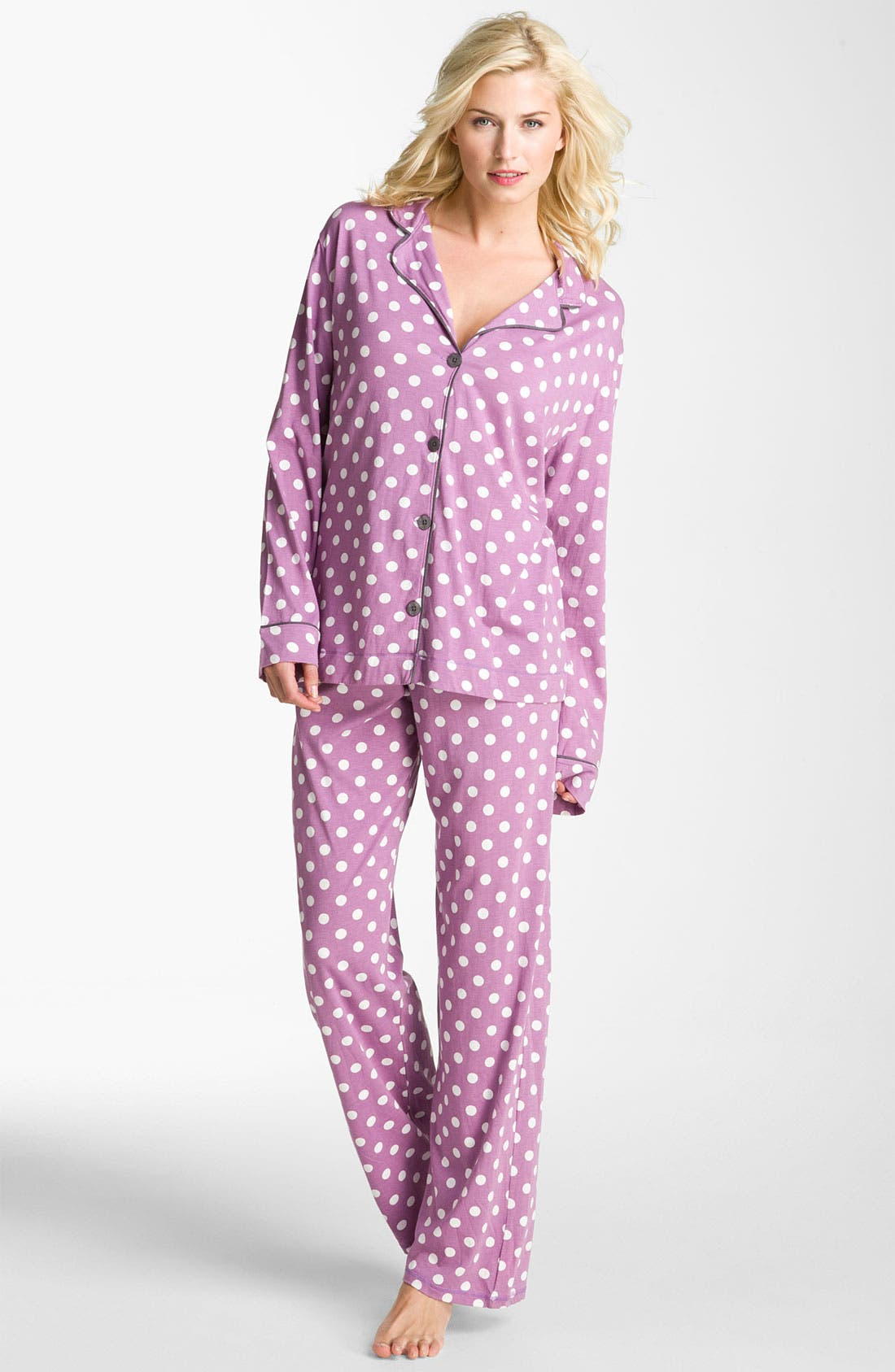 Alternate Image 1 Selected - PJ Salvage Knit Pajamas