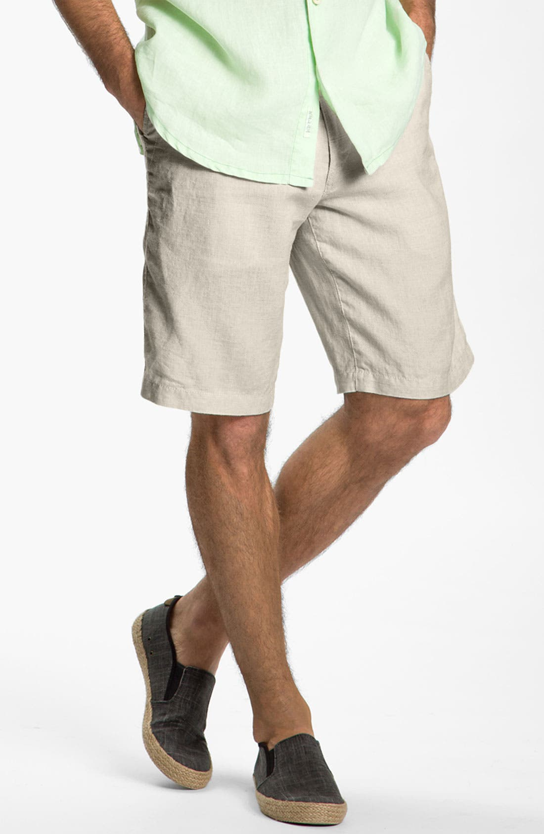Alternate Image 1 Selected - Tommy Bahama 'Beachy Breezer' Linen Shorts