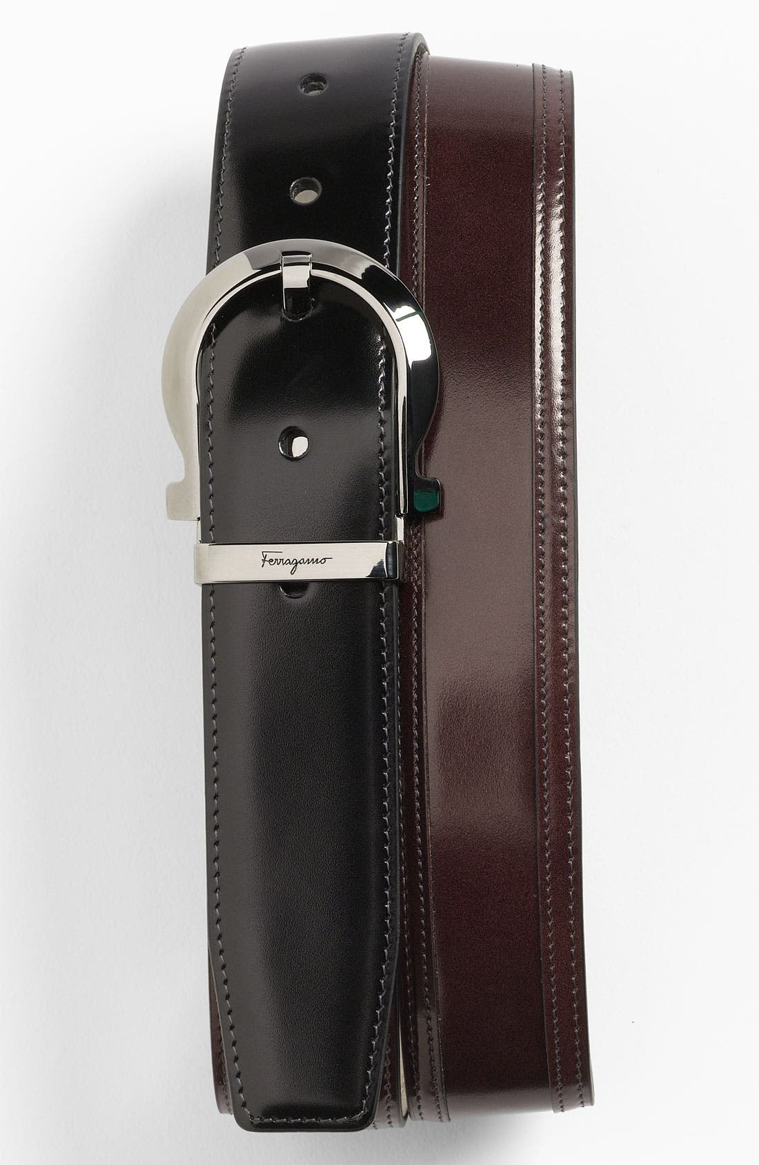 Alternate Image 1 Selected - Salvatore Ferragamo Adjustable Belt