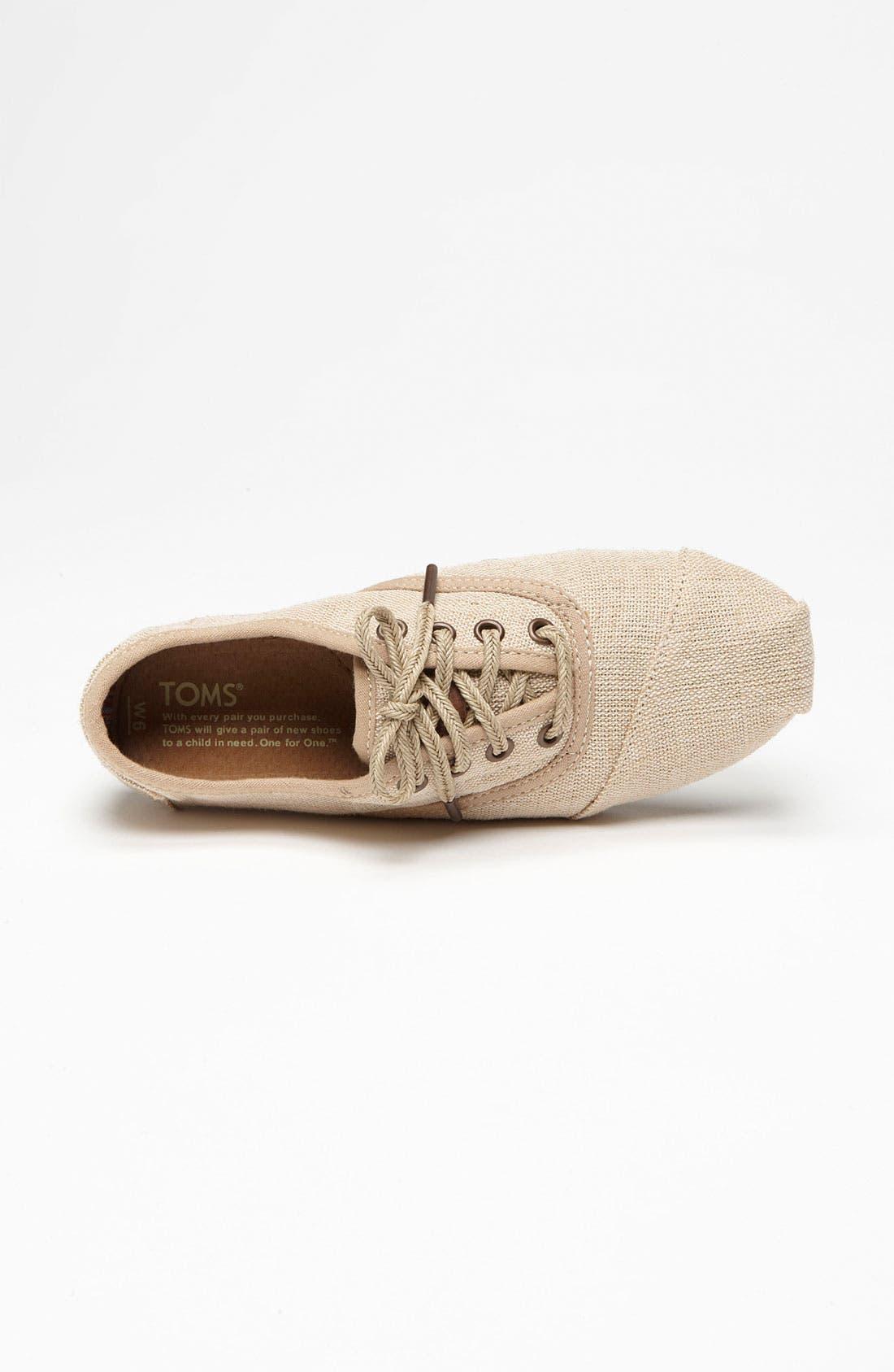 Alternate Image 3  - TOMS 'Cordones - Paxton' Sneaker (Women)