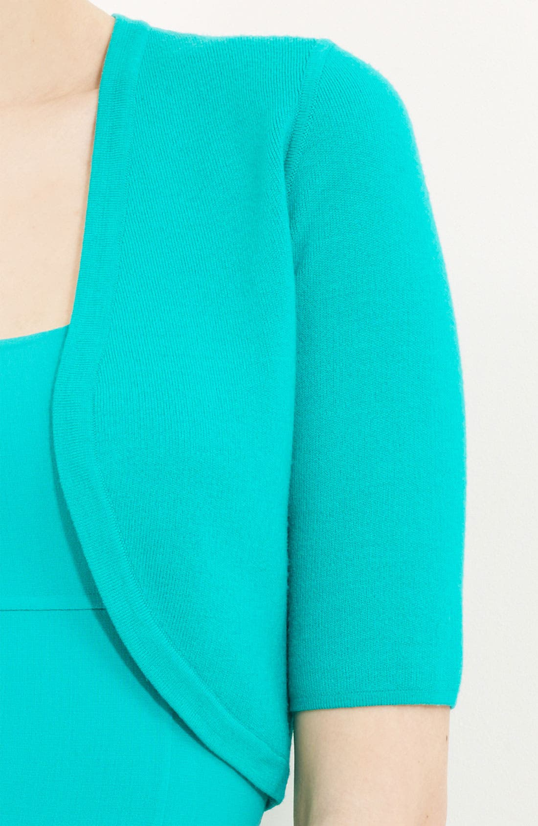 Alternate Image 2  - Michael Kors Featherweight Merino Wool Shrug