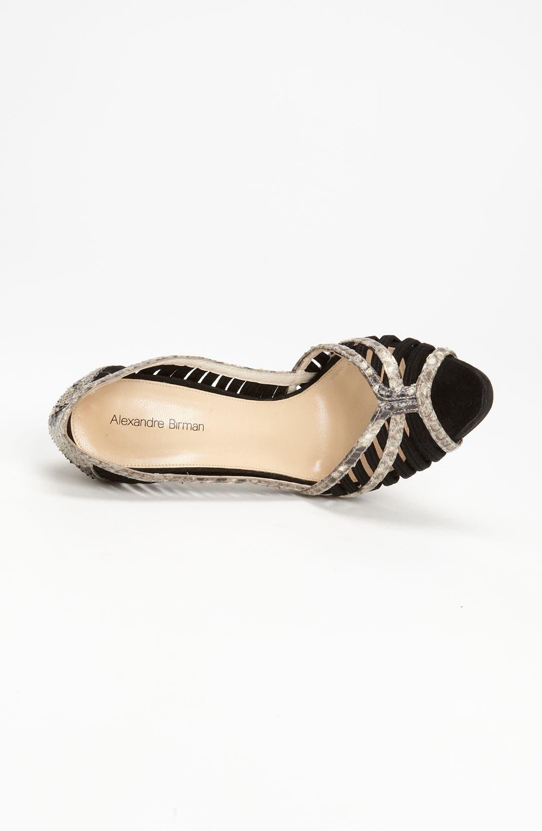 Alternate Image 3  - Alexandre Birman Genuine Python Sandal