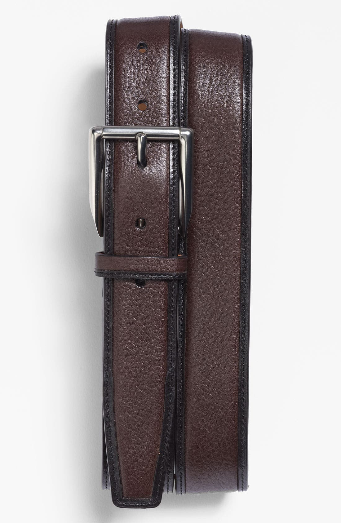 Alternate Image 1 Selected - Trafalgar 'Brookfield' Leather Belt