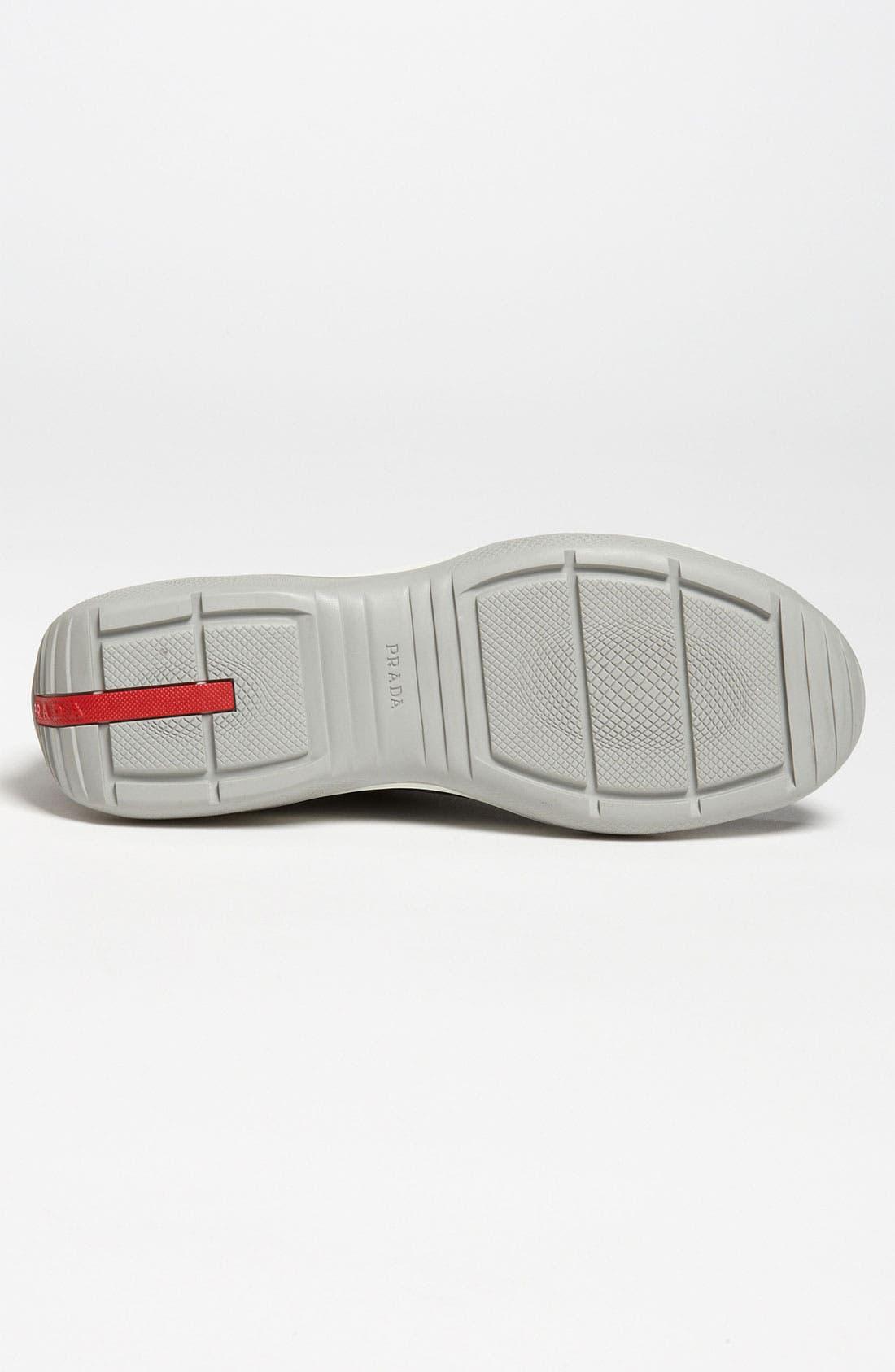 Alternate Image 4  - Prada Leather Sneaker