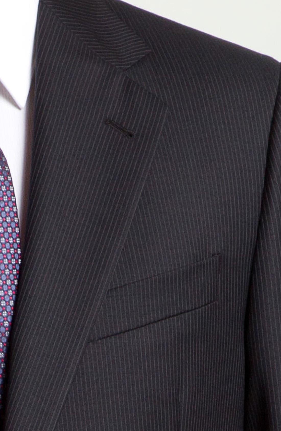 Alternate Image 6  - Joseph Abboud 'Signature Silver' Pinstripe Suit