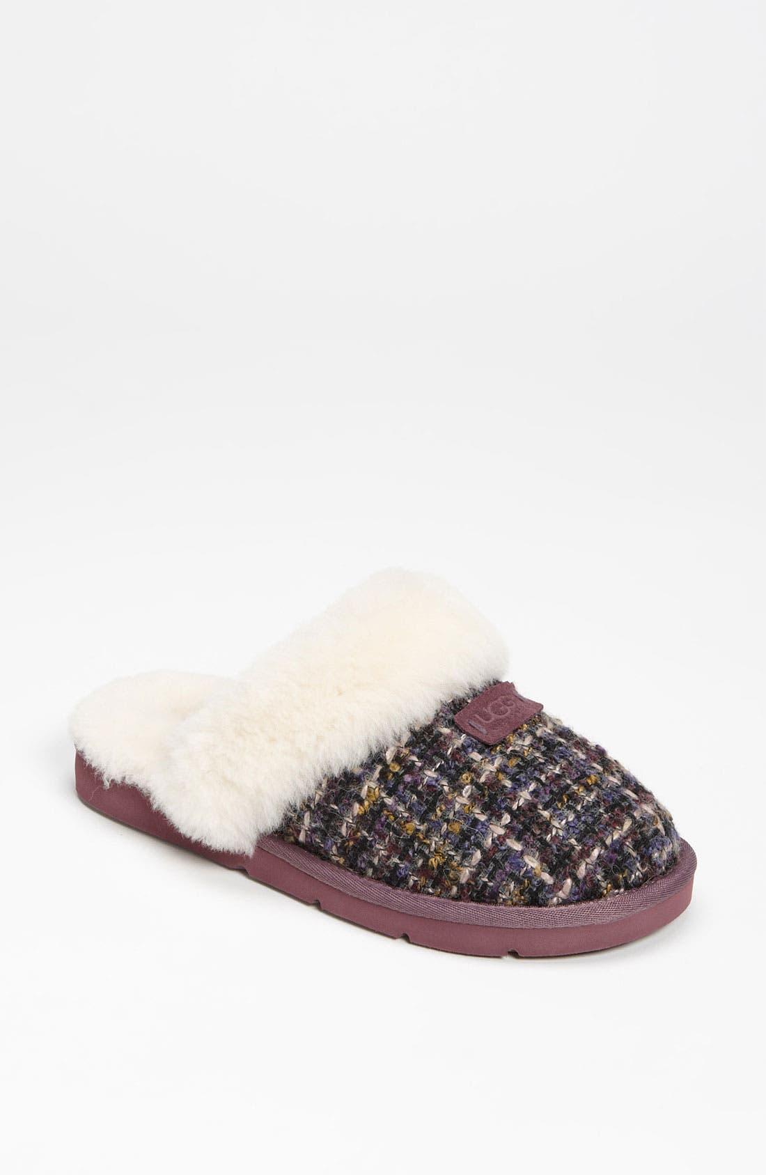 Alternate Image 1 Selected - UGG® Australia 'Cozy Tweed' Slipper (Women)