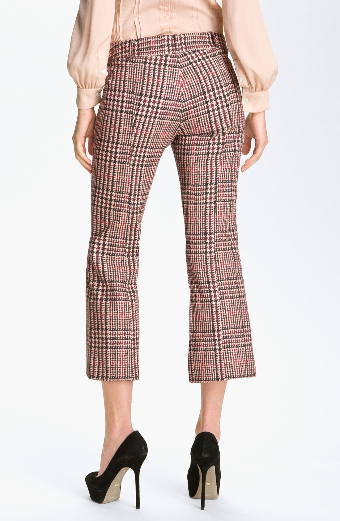 Alternate Image 2  - Derek Lam 10 Crosby Houndstooth Crop Pants