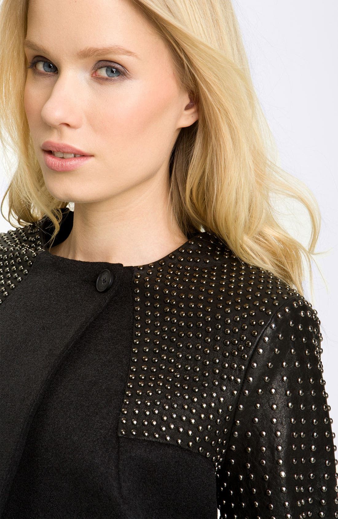 Alternate Image 2  - Pierre Balmain Stud Detail Coat