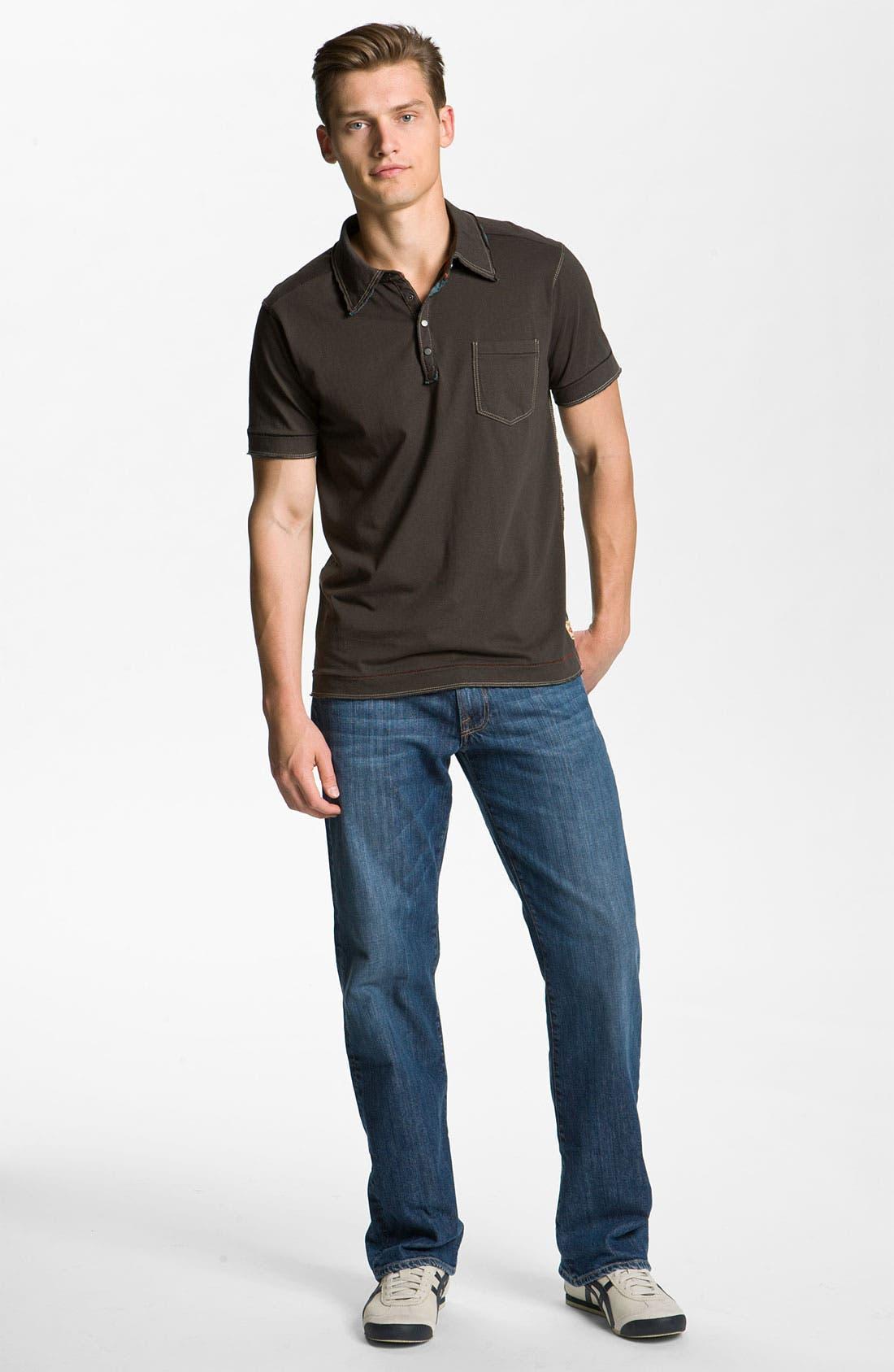 Alternate Image 5  - Lucky Brand '361 Vintage' Straight Leg Jeans (Rinse)