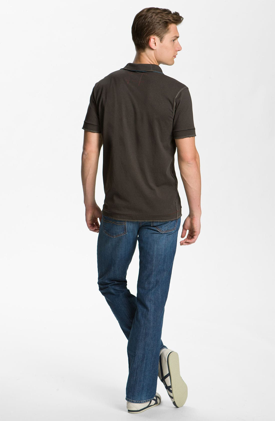 Alternate Image 6  - Lucky Brand '361 Vintage' Straight Leg Jeans (Rinse)