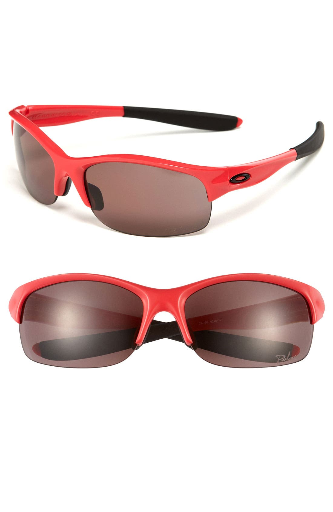 Alternate Image 1 Selected - Oakley 'Commit® Square' 62mm Polarized Sunglasses