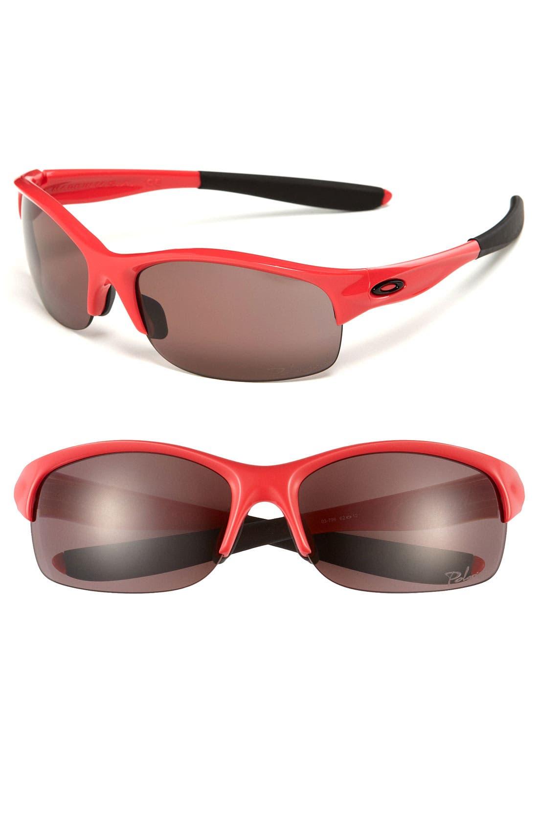 Main Image - Oakley 'Commit® Square' 62mm Polarized Sunglasses