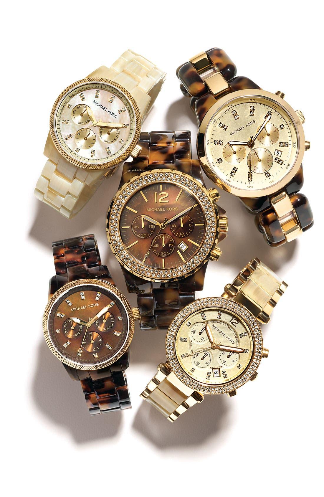 Alternate Image 2  - Michael Kors 'Madison' Crystal Bezel Watch