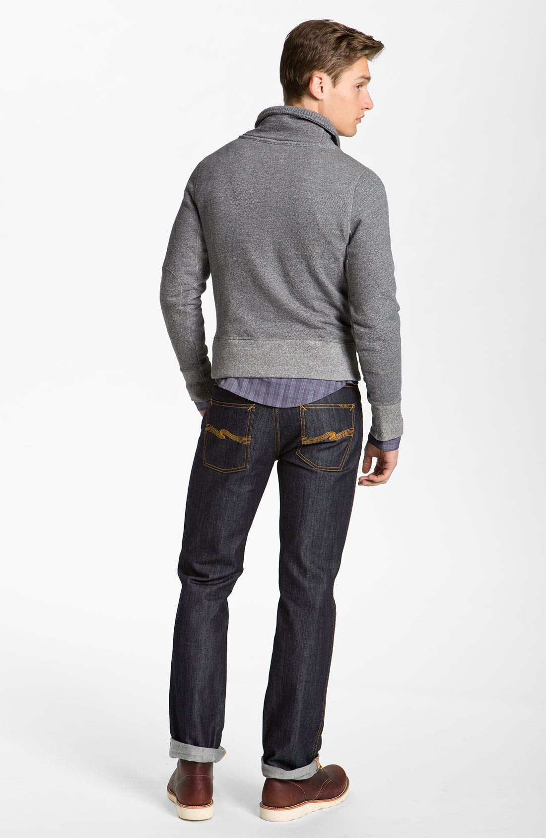 Alternate Image 4  - Billy Reid 'Shiloh' Shawl Collar Pullover