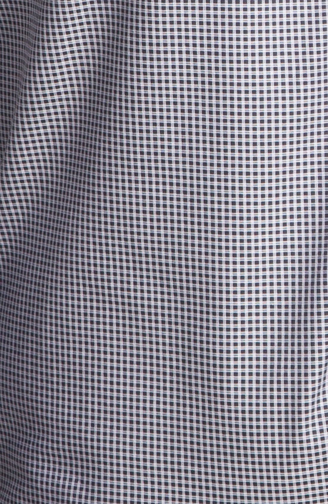 Alternate Image 3  - Armani Collezioni Gingham Print Shirt