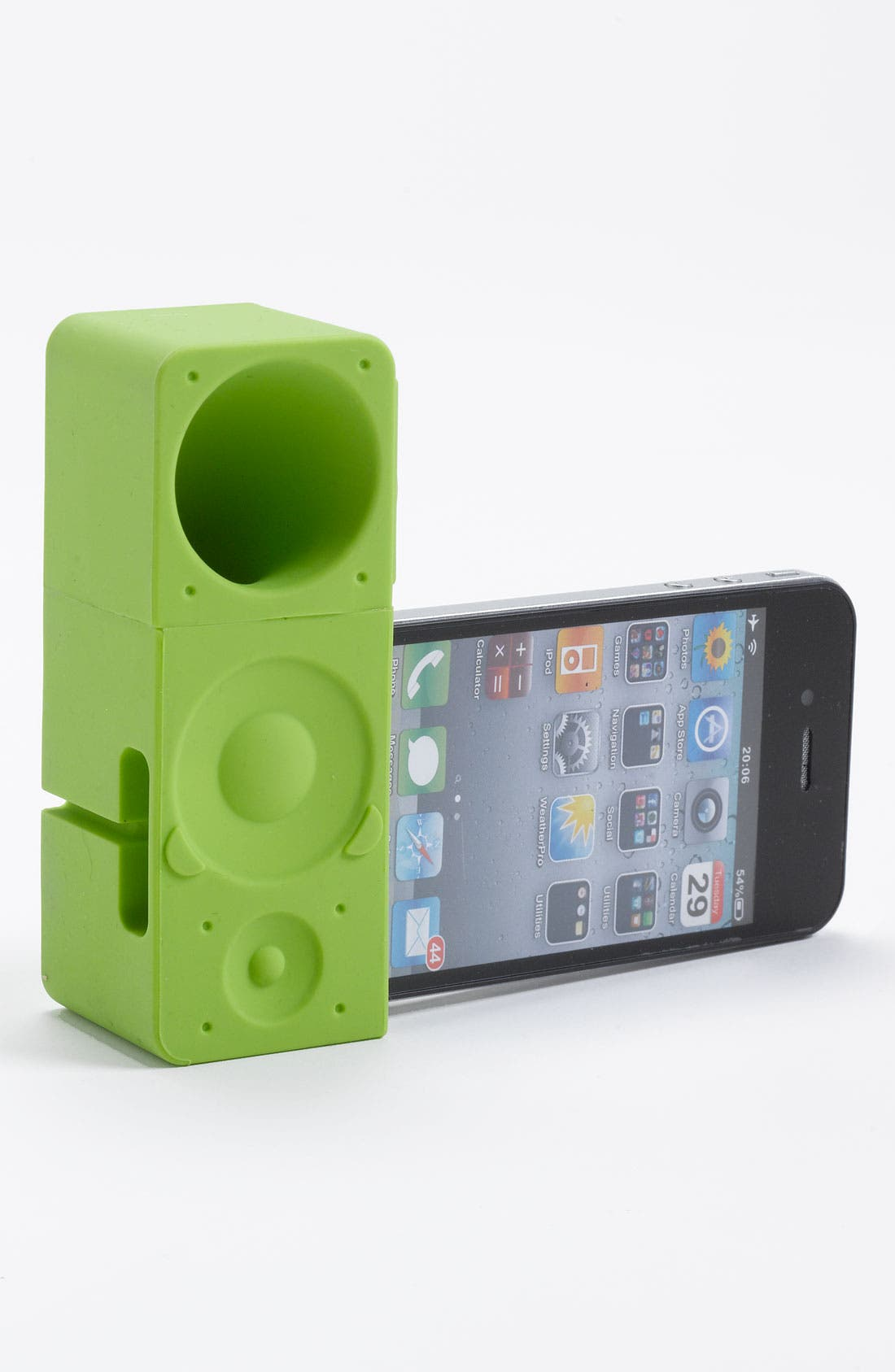 Alternate Image 2  - Ozaki 'iCarry time 2boom' iPhone 4 & 4s Stand & Amp