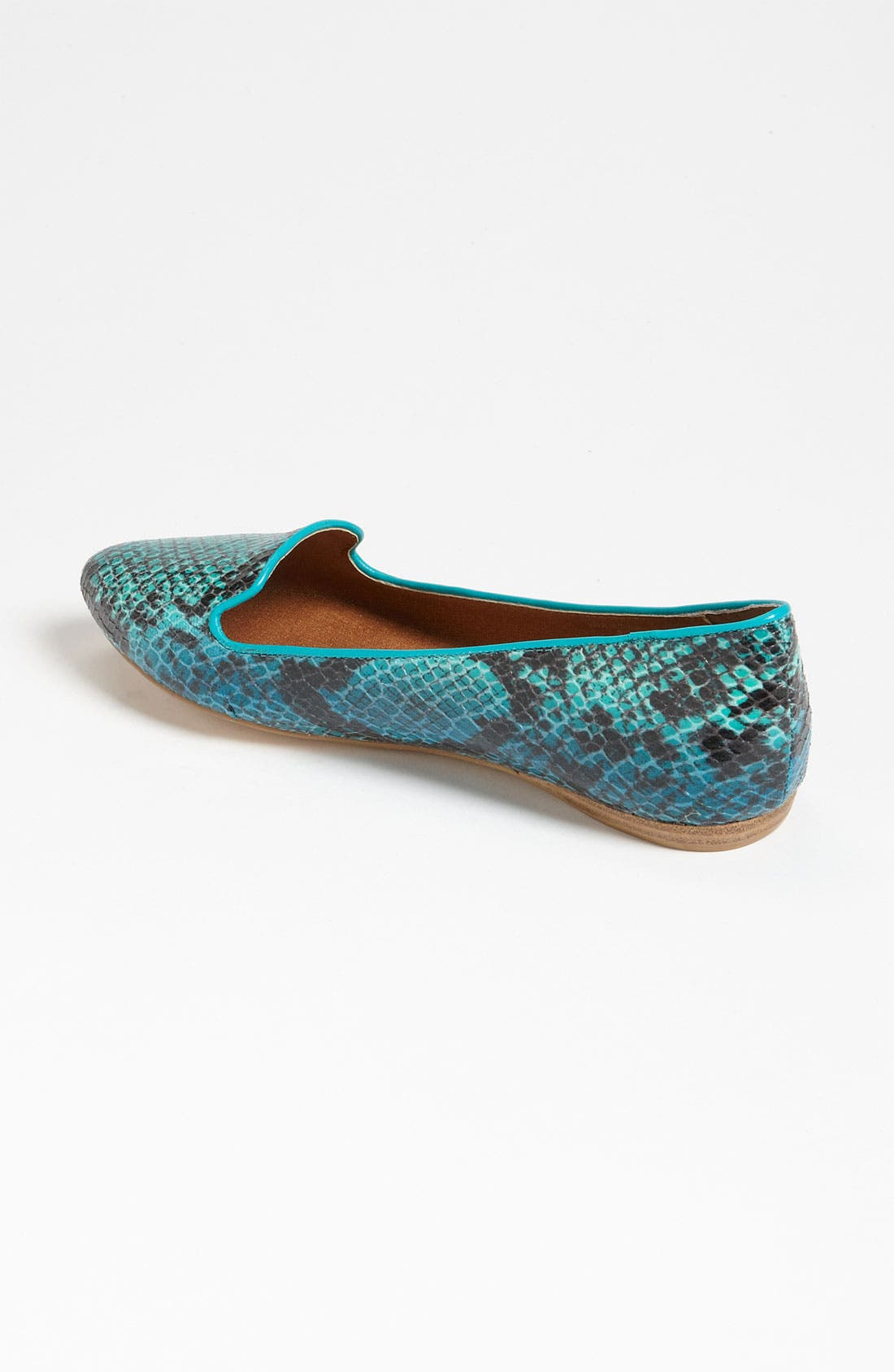 DV by Dolce Vita 'Lissa' Flat,                             Alternate thumbnail 2, color,                             Teal Snake