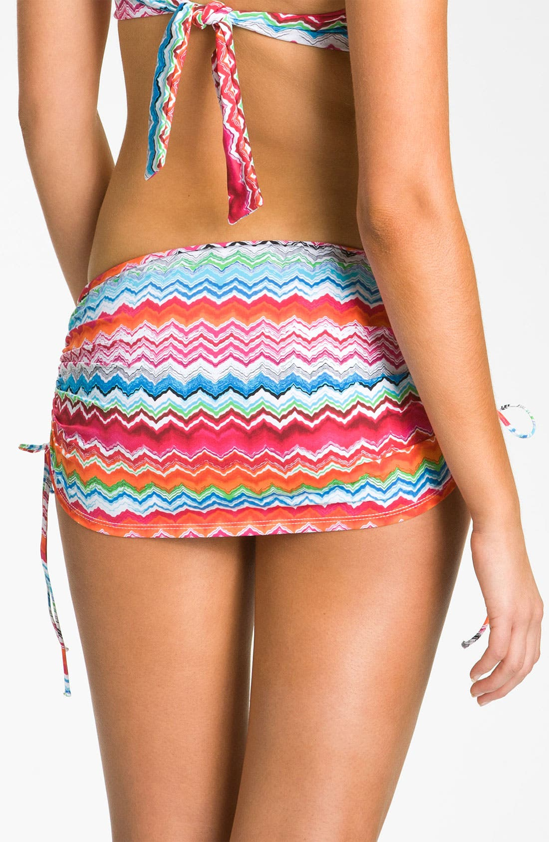 Alternate Image 2  - La Blanca 'Shore Line' Skirted Bikini Bottoms