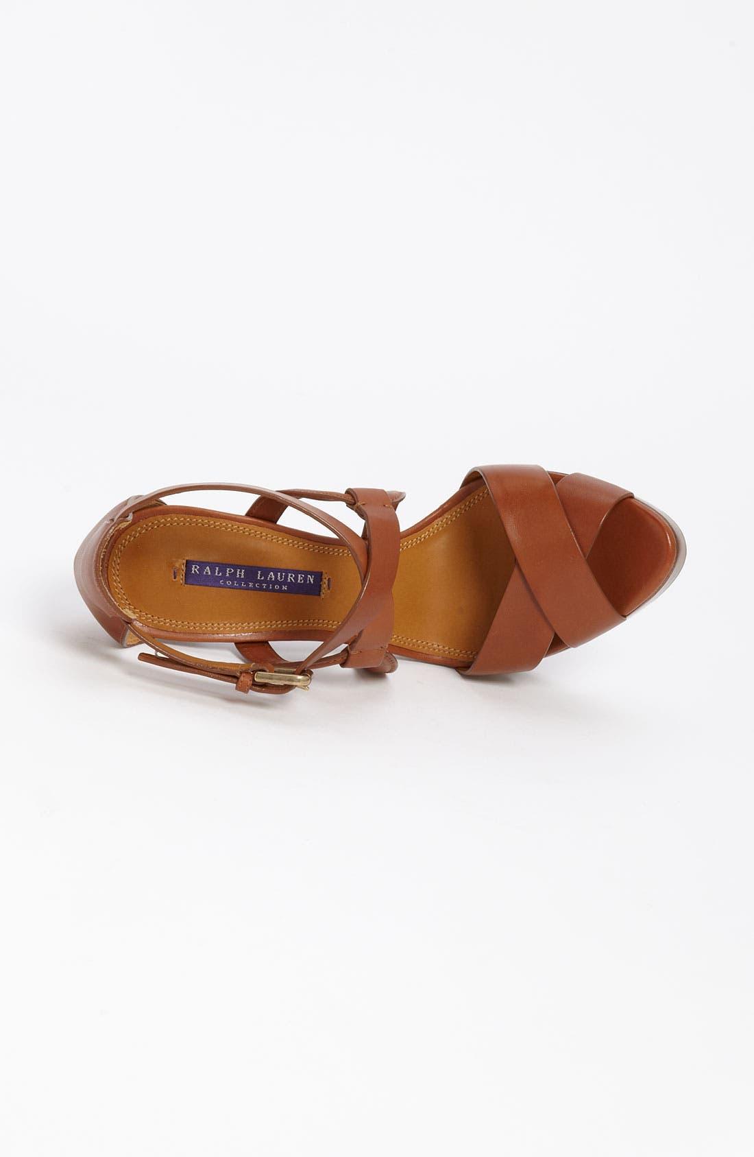 Alternate Image 4  - Ralph Lauren Collection 'Jesita' Sandal