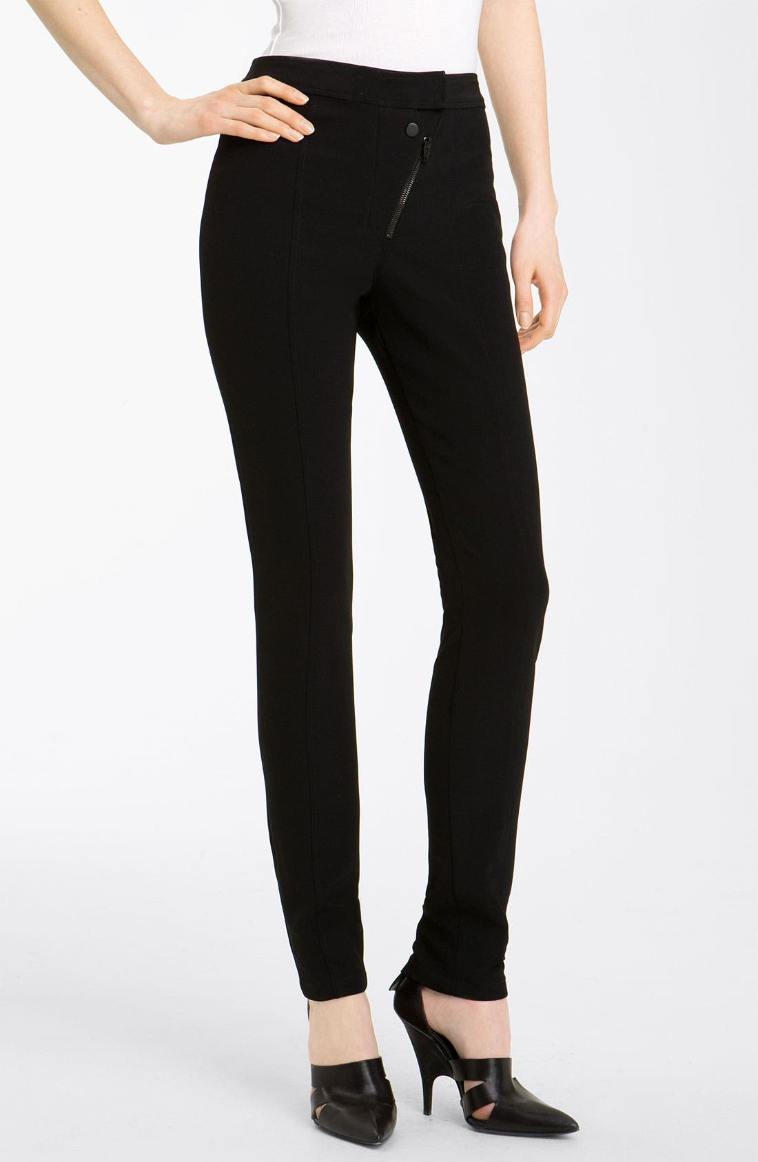 Alternate Image 1 Selected - Alexander Wang Skinny Double Fly Pants
