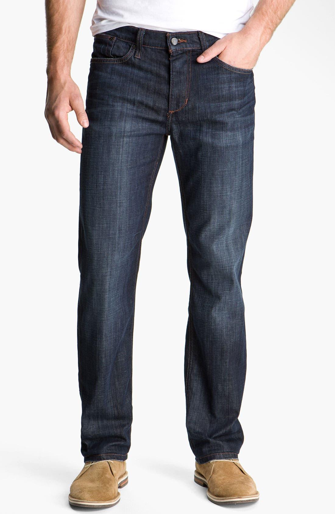 'Classic' Straight Leg Jeans,                             Main thumbnail 1, color,                             Dixon