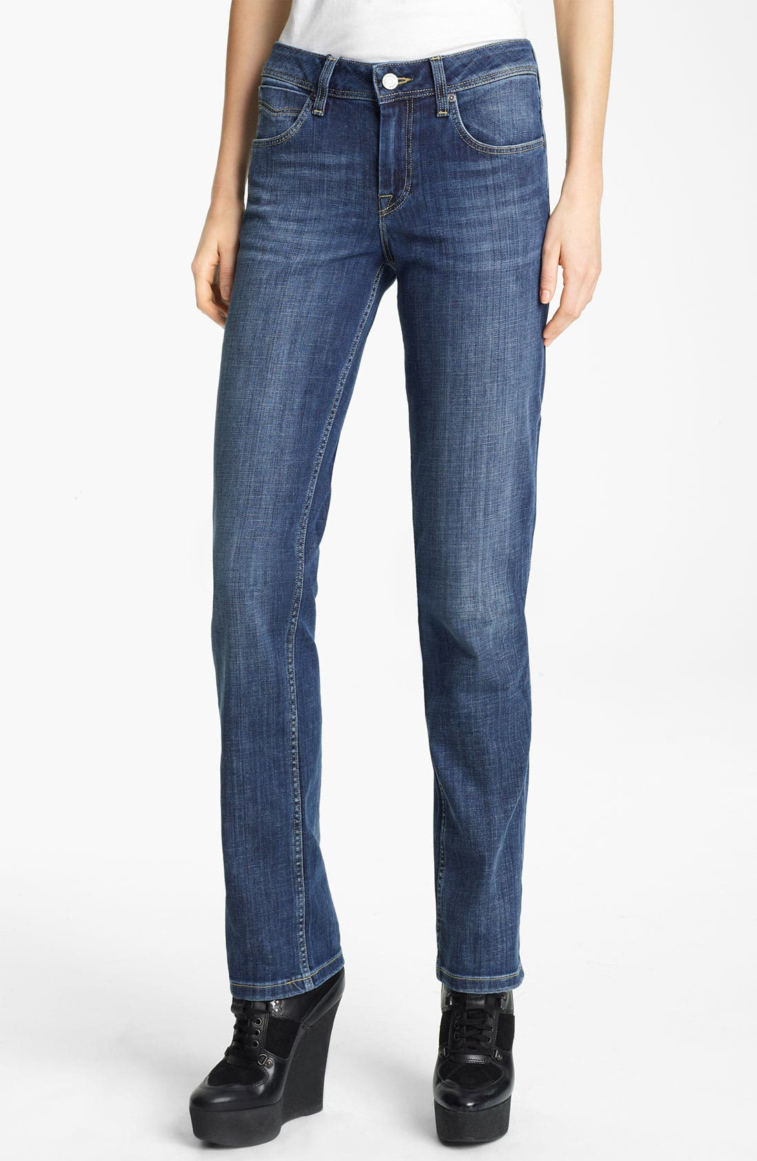 Alternate Image 1 Selected - Burberry Brit Straight Leg Jeans
