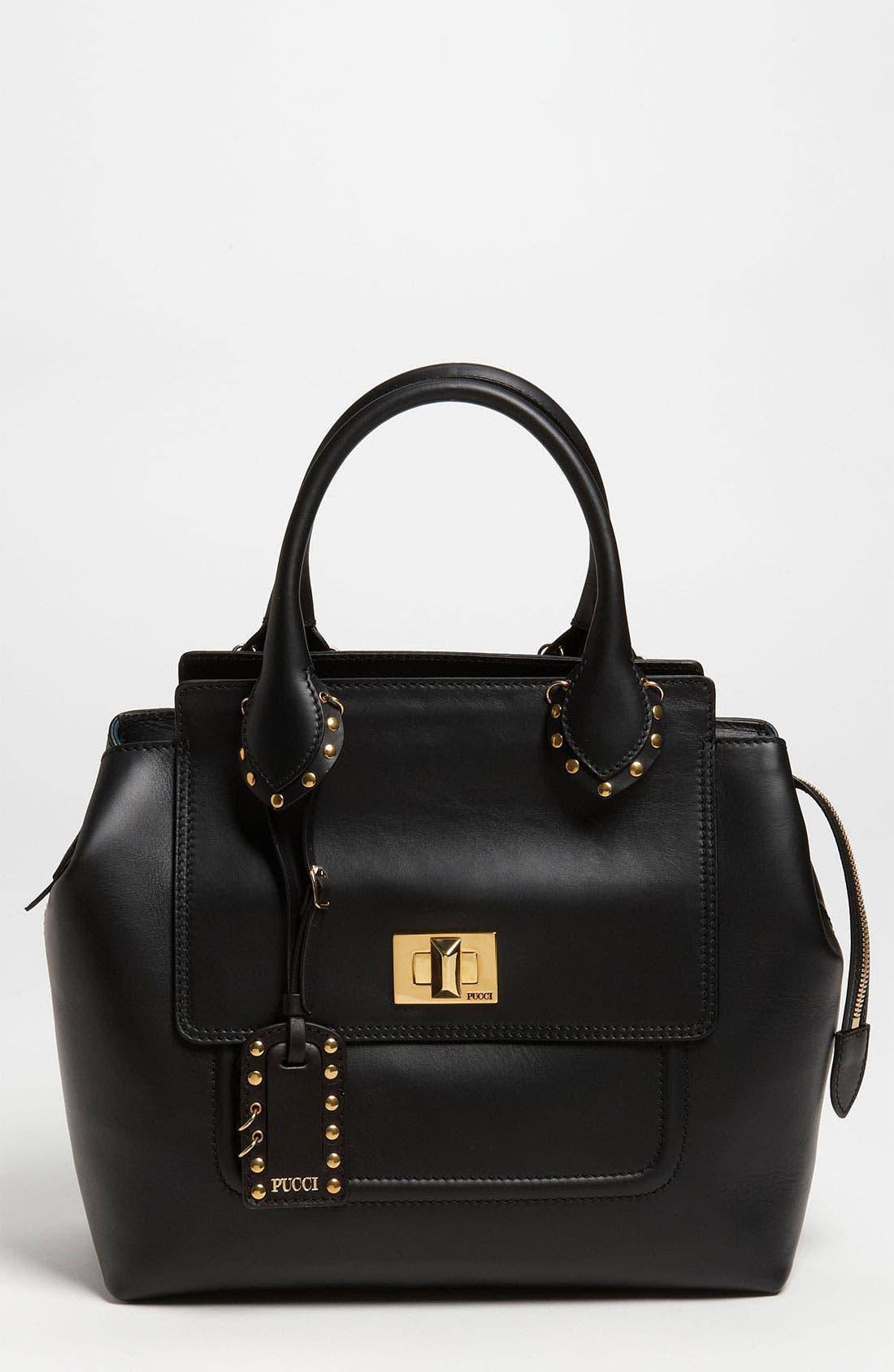 Main Image - Emilio Pucci Leather Satchel