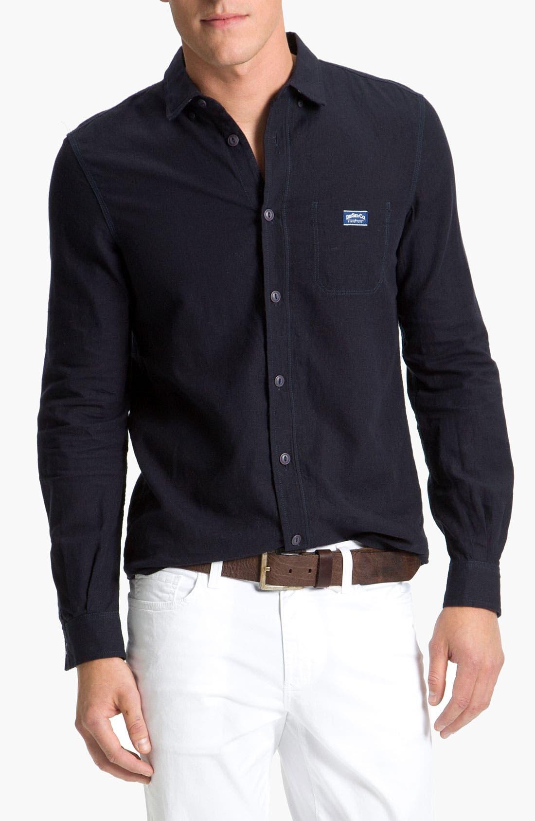 Alternate Image 1 Selected - DIESEL® 'Shrobina J' Sport Shirt