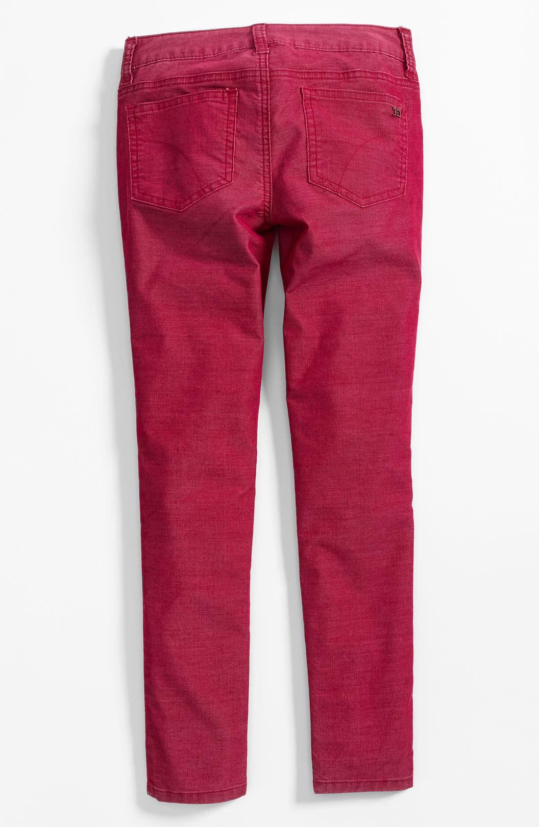 Alternate Image 1 Selected - Joe's Corduroy Leggings (Big Girls)
