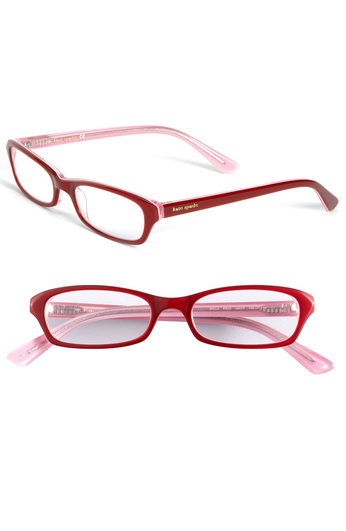 Alternate Image 1 Selected - kate spade new york 'willa' reading glasses