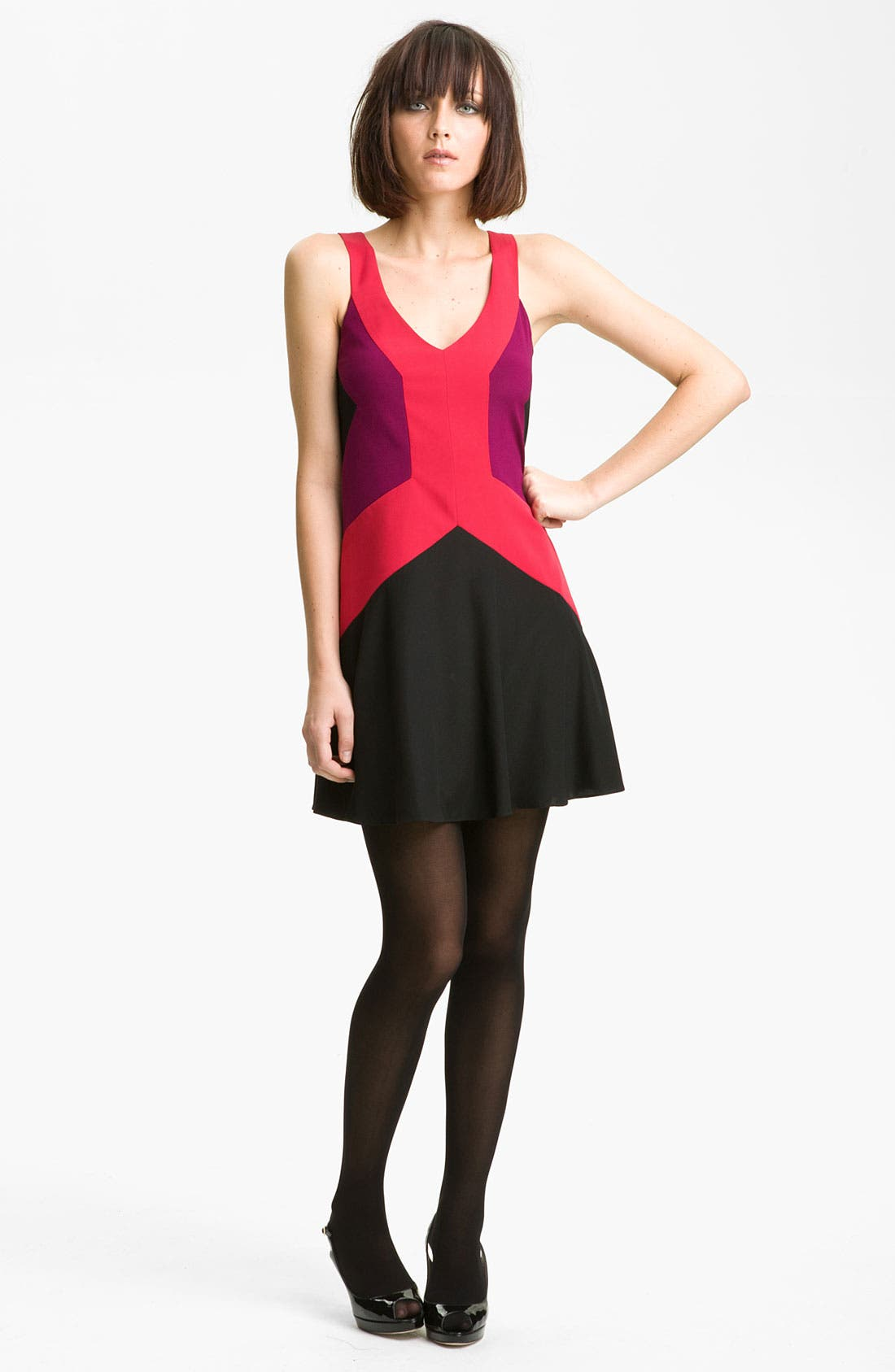 Main Image - Jay Godfrey 'Ullman' Colorblock Tank Dress