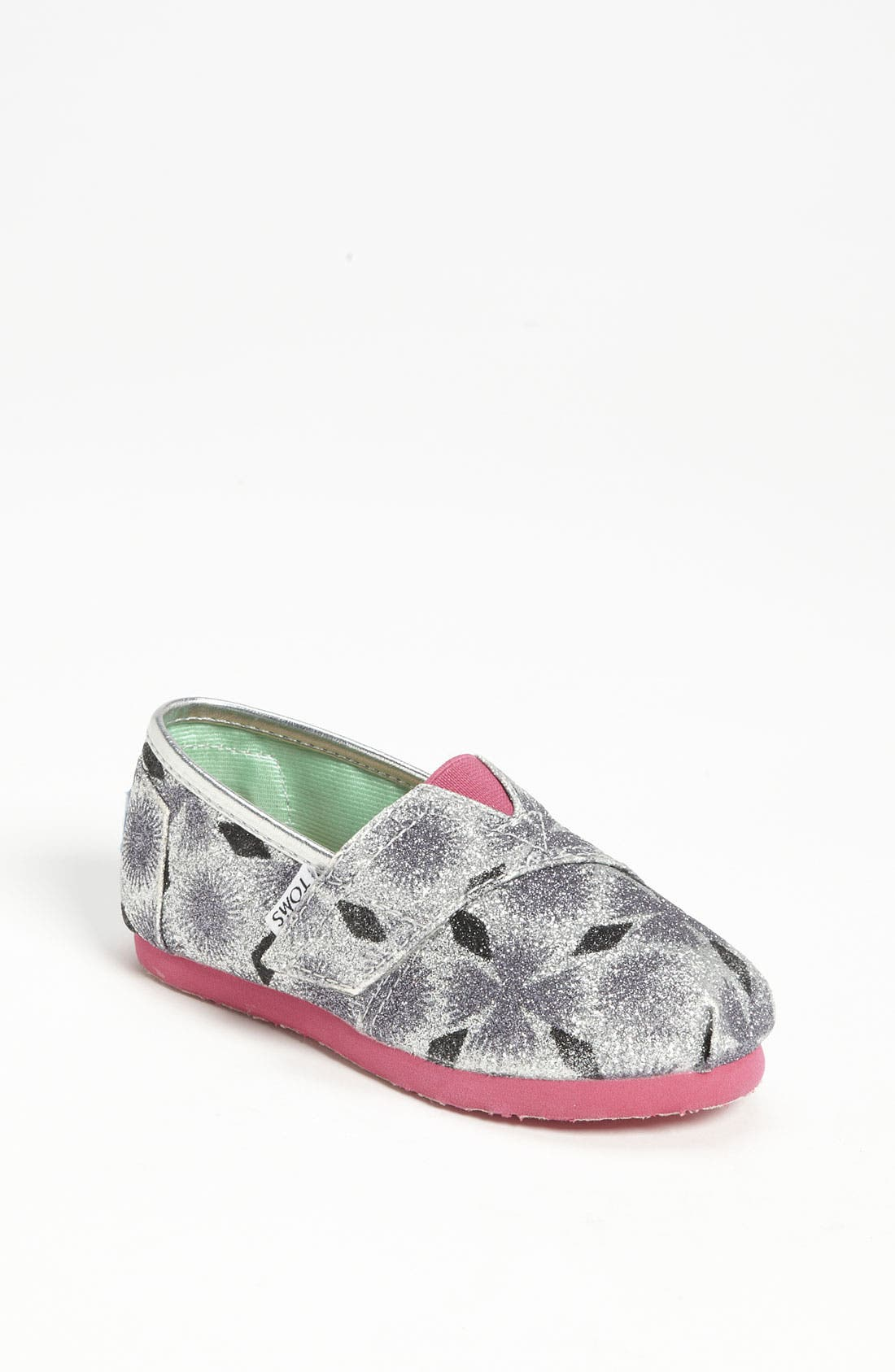 Main Image - TOMS 'Classic Tiny - Starburst' Slip-On (Baby, Walker & Toddler) (Nordstrom Exclusive)