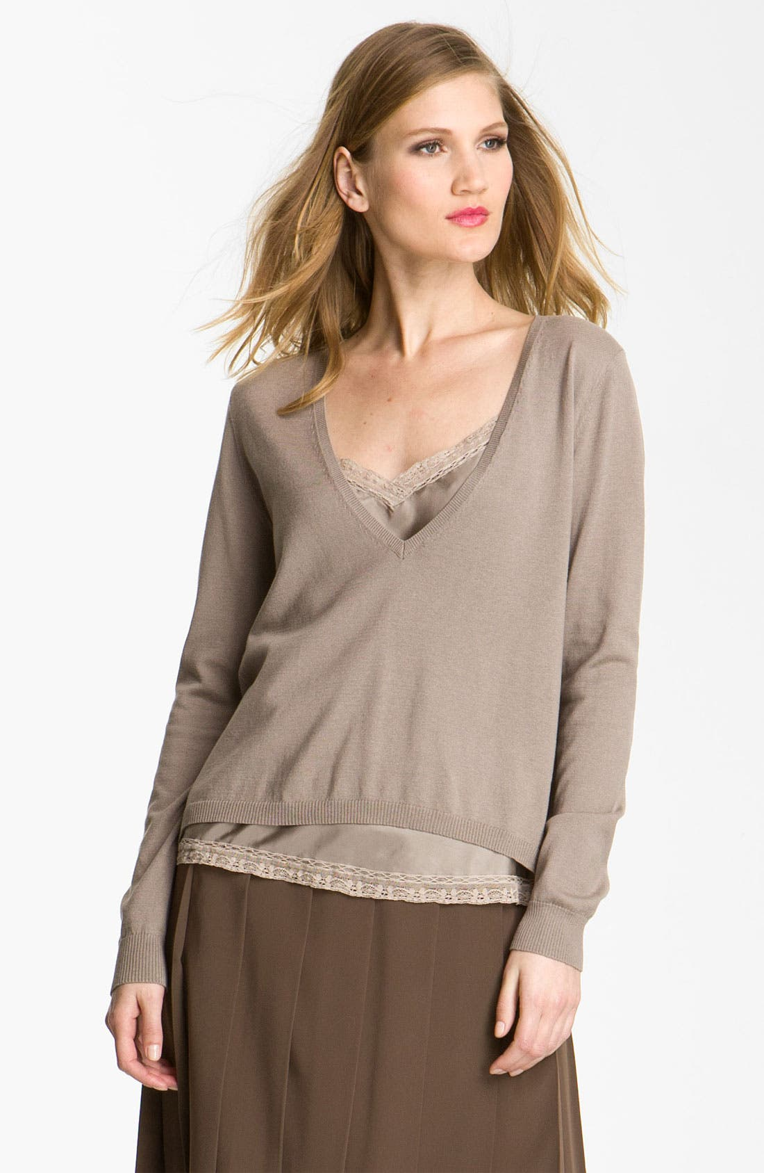 Alternate Image 1 Selected - Weekend Max Mara 'Opale' Sweater & Camisole