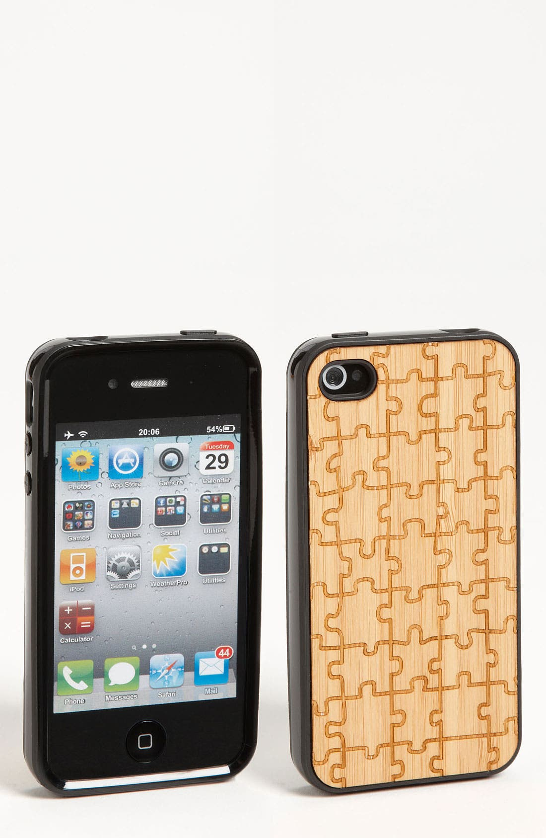 Alternate Image 1 Selected - Grass Roots 'Puzzle' iPhone 4 & 4S Case