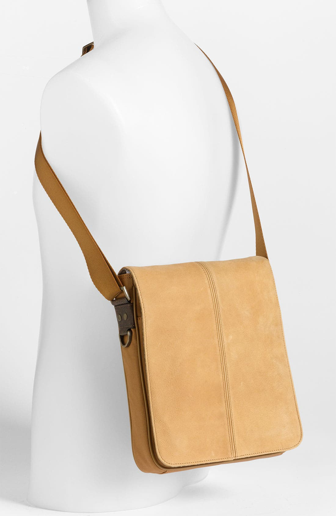 Alternate Image 2  - Boconi 'Leon Mailbag' Calfskin Leather Crossbody Bag