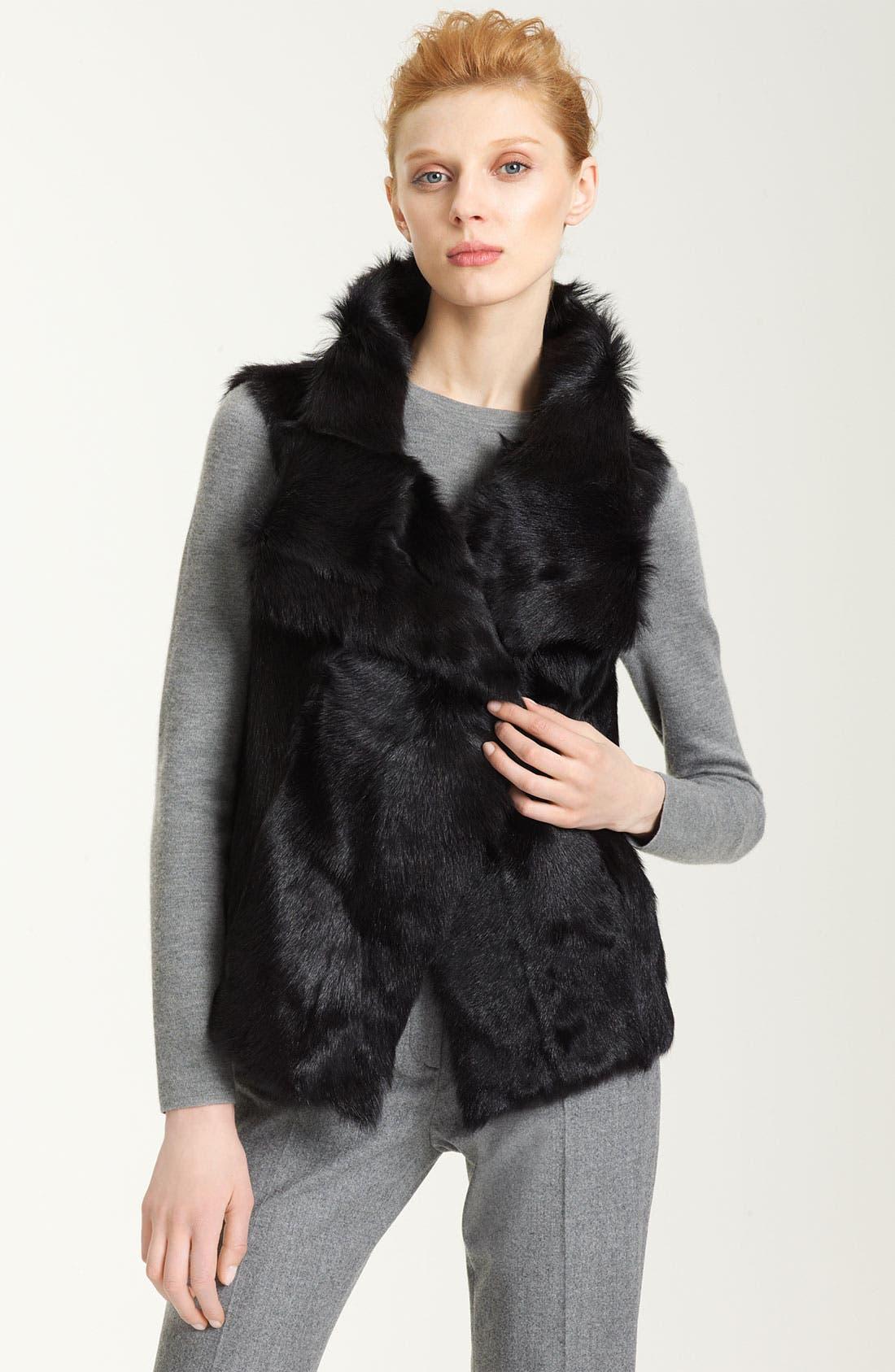 Main Image - Pologeorgis Genuine Fur Vest